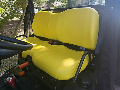 John Deere Gator Bench Seat Covers XUV 825i / S4 in YELLOW or 45+ Colors