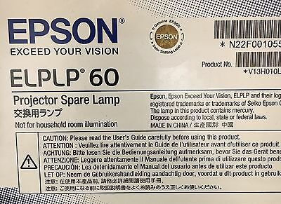 Genuine Epson Projector spare lamp (ELPLP 60)new And Sealed