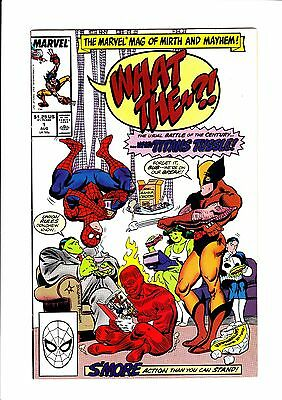 WHAT THE ? (1988) (#1-15 / a continuous 15 issue comic book run) - Marvel Comics