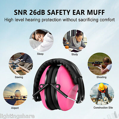 Noise Reduction Earmuff Hearing Protection 26dB Ear Defender Hunting Shooting US