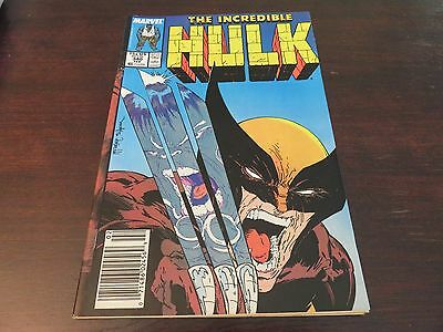 The Incredible Hulk #340 (Feb 1988, Marvel) VF- 7.0 Wolverine
