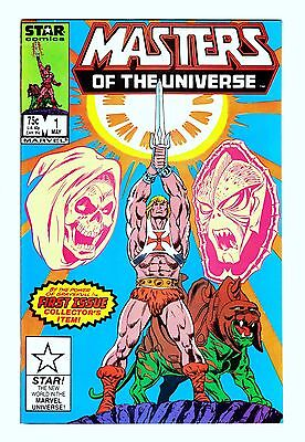 """Masters Of The Universe Comics (1986) (#1-7) - """"high Grade"""" Lot - Marvel/star"""