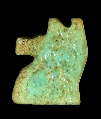 Fantastic Egyptian Faience Eye Of Horus Pendant