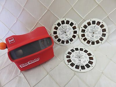 Dukes of Hazzard Viewmaster Reels set of 3 with Viewmaster!