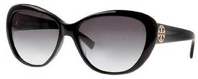 NWT TORY BURCH Sunglasses TY 7005 501/11 Black / Gray Gradient 56 mm 50111 NIB