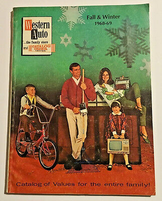 1968 1969 Western Auto Fall and Winter Christmas Catalog