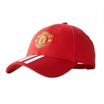 Gorra adidas Manchester United FC 3S 2017-2018 Real red-White