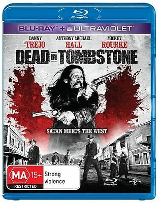 Dead In Tombstone (Blu-ray, 2013) VGC Pre-owned (D85)