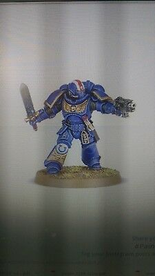 Warhammer 40K Dark Imperium 1 x Primaris Space Marine Lieutenant Power Sword