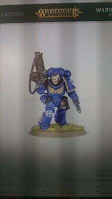 Warhammer 40K Dark Imperium 1 x  Primaris Space Marine Lieutenant Bolt Rifle