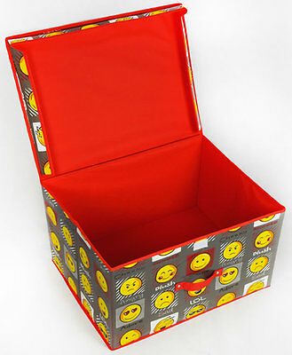 Emoji, Expressions Storage Box - Grey