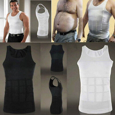 Best Men Body Slimming Tummy Shaper Underwear shapewear Waist Girdle Shirt DW