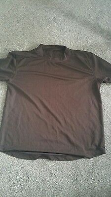 BROWN Self Wicking Combat T-Shirt - CADET/British/Army/Military - Short Sleeve