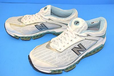 new product d5bf7 fd954 New Balance Women s Zip 1306 Athletic Shoes White blue green Size ...