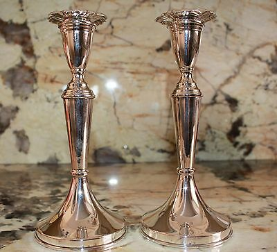 Candlesticks With Bob0Sh 84P Russian Excellent! Not Weighted