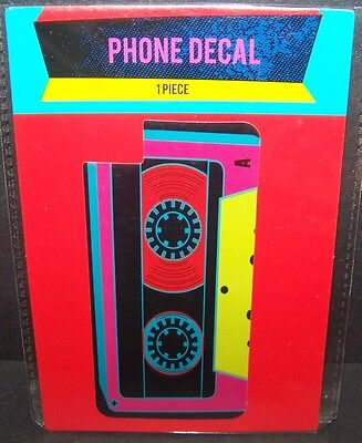 Cell Phone Decal Retro Cassette Tape Sticker