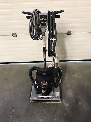 Clarke Sander Model Obs -18 Orbital Floor Sander Machine / Dust Control System