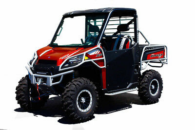 Dragonfire Racing ReadyForce Hiboy Doors - BLACK - Polaris Ranger 900 _07-1900