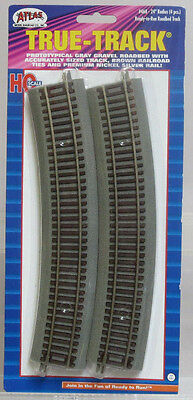 "Atlas True-Track #468 24"" Radius Curve Code 83 w/Roadbed (4 Pieces) HO Scale NIB"