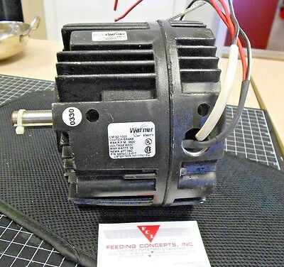 Warner Electric Um 50-1020 Electric Motor Clutch Break 90V 3600 Rpm 20 Wt.used.