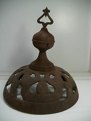 Antique Iron/Steel Parlor Stove Top Finial for Wood/Coal REX 18