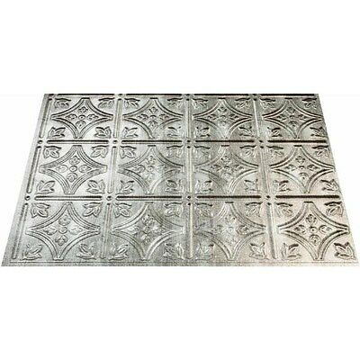 Panel Traditional 1 Cross Hatch Silver,No D60-21,  Acp