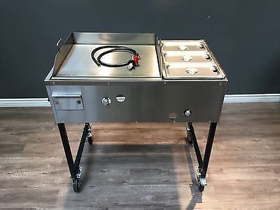 New #2 Combo Catering Taco Cart