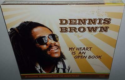 Dennis Brown My Heart Is An Open Book (2007) Brand New Sealed Reggae Cd