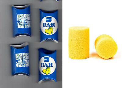 4 Pairs Ear Plugs for Work - Sound Protection - Better Sleep Bouchons Oreilles