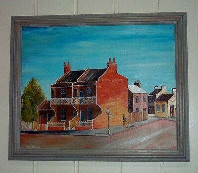 Vintage Oil Painting , ' Old Redfern ' , by K Lewis