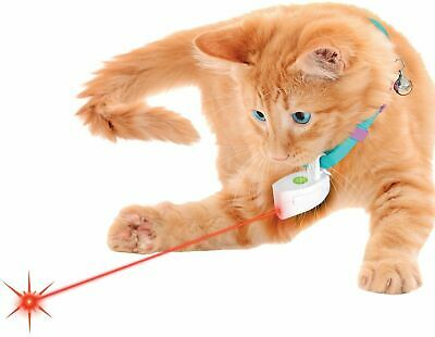 Laser Collar Cat Toy - Suits Kittens, Puppies, Cats & Dogs