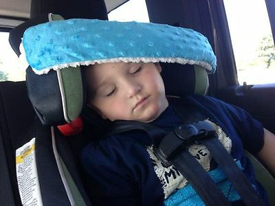 RARE Authentic Nonods Car Seat Support Pillow Head Band Sleep Soft Kids Baby