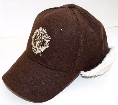 Manchester United Official Baseball Cap (Brown)