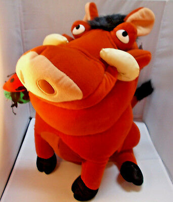 Disney Lion King PUMBAA Warthog Plush 15""