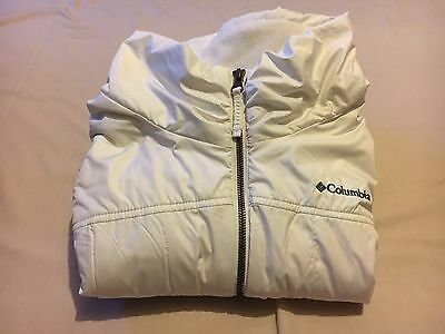 Columbia Womens Outdoor Hiking White Vest Size Xl