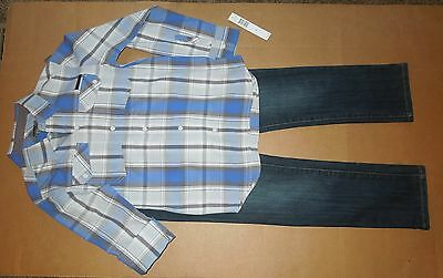 Nwt Boy's Dkny Outfit - Size 12