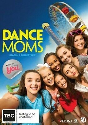 DANCE MOMS - SEASON 6 Part 1 -  DVD - UK Compatible - sealed