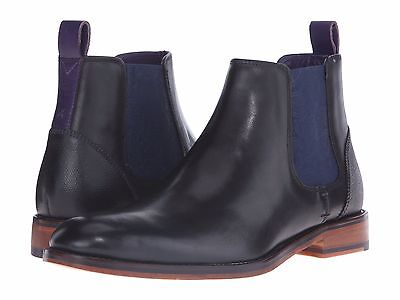 TED BAKER LONDON Men's Camroon 4 Black Leather Chelsea Boot