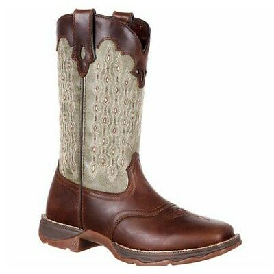DRD0195 Durango Lady Rebel Evergreen Embroidered Western Boot NEW