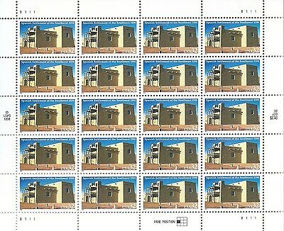 Us Sheet Stamps #3220 Spanish Settlements Of The Sw 20-$0.32 @ Best Offer