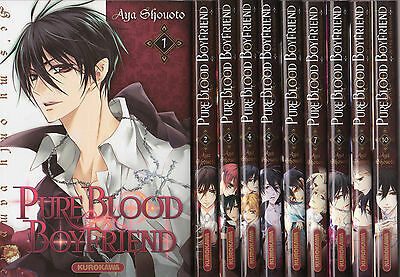 PURE BLOOD BOY FRIEND tomes 1 à 10 Aya Shouoto SERIE manga shojo SERIE COMPLETE