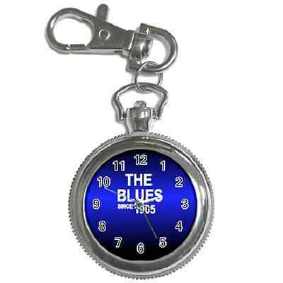 The Blues Since 1905 Chelsea Round Keychain Watch **superb Gift Item**