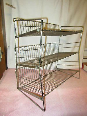 Vintage Wire 3-Shelf Candy Rack Display