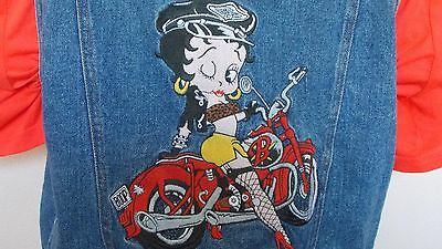 Betty Boop Denim Universal Studio Small Vest