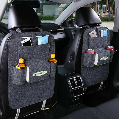 Auto Car Seat Back Multi-Pocket Storage Bag Organizer Holder Accessory  MS