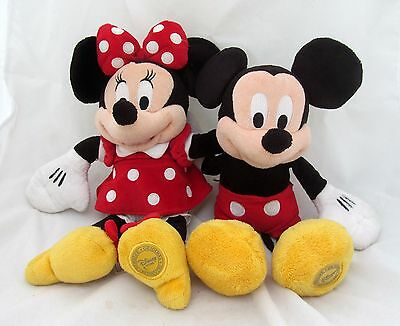 14 disney mickey mouse twice upon a christmas stuffed animal plush toy doll new picclick - Disney store mickey mouse ...