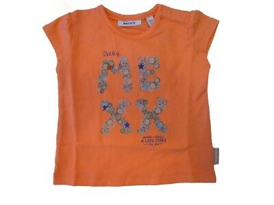 Mexx Baby T-Shirt Georgia Peach for Girls sz. 56 62 68