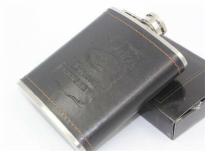 Hip Flask Alcohol Bottle Stainless Steel Pocket Flagon Wine Pot Mini Liquor-HOT