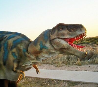 Dinosaur Baby T-REX Costume Jurassic Park Walking With Dinosaurs Realistic Suit