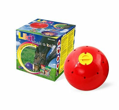 Likit Snak-A-Ball RED - Horse Toy - *NEW*